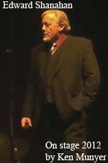Edward Shanahan Psychic Reader Medium and Paranormal Host on stage at the Portage Theather