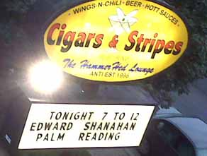 Edward Shanahan at Cigars and Stripes Marquee