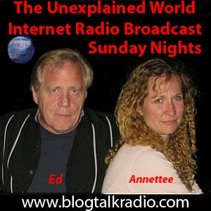 Ed and Annette from The Unexplained World.