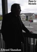 Edward Shanahan taking in view at Psychic House Party