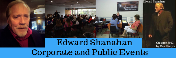 Corporate and Public Events with Edward Shanahan