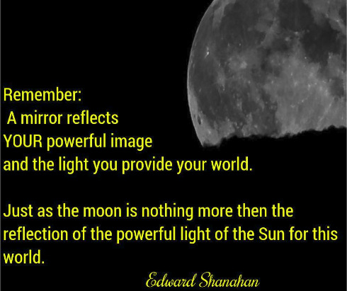Moon thought by Edward Shanahan
